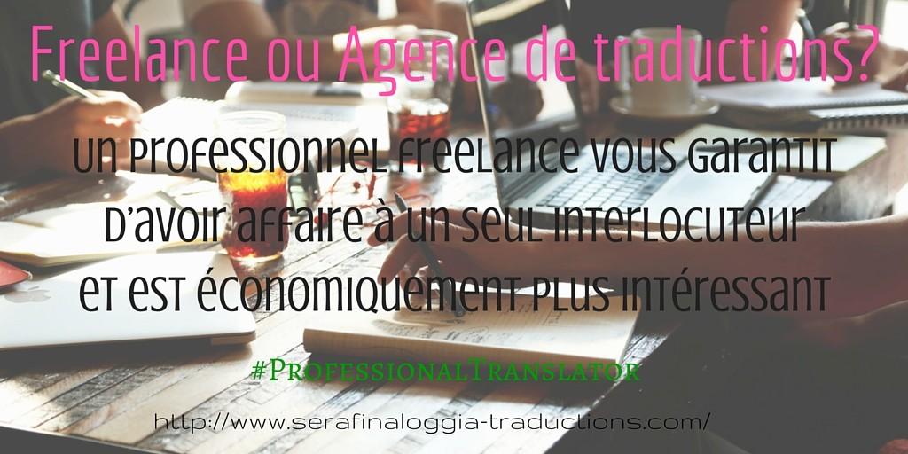 Freelance ou Agence de traductions-serafina-loggia