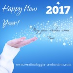 2017 Bonne année - Felice anno nuovo - Happy New Year