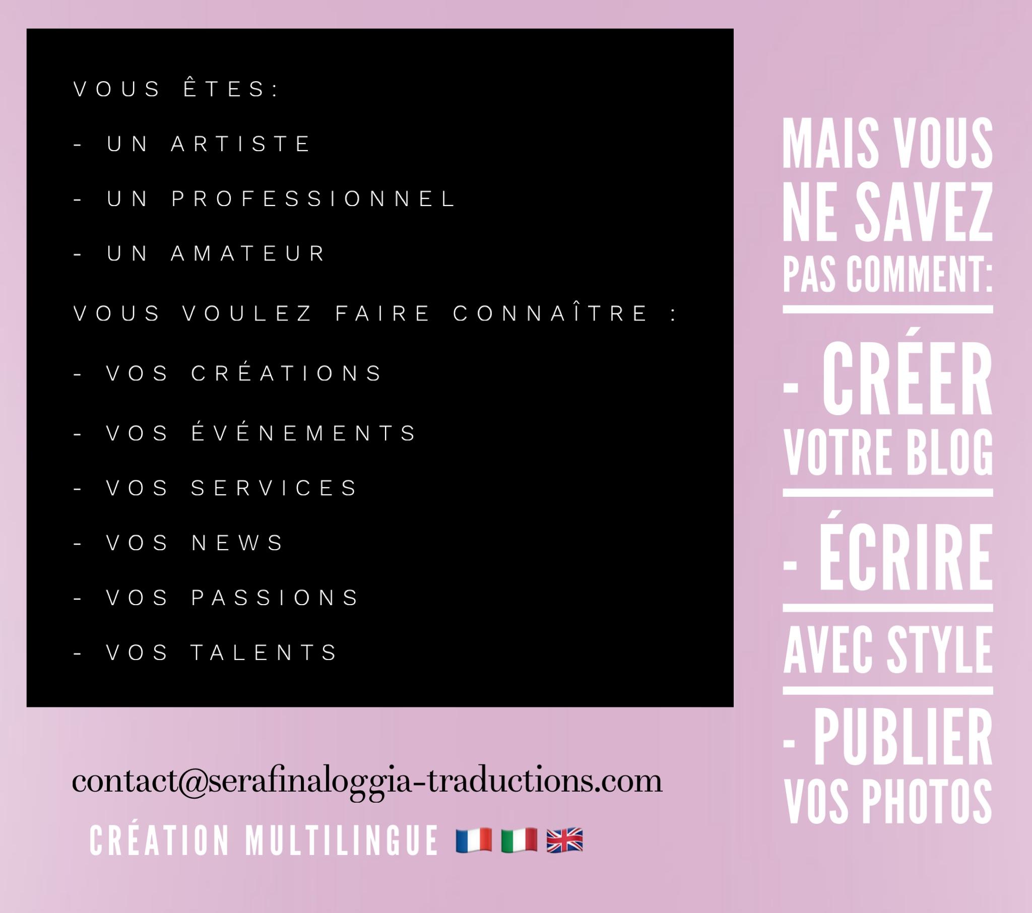 Création de blog multilingue